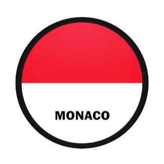 Monaco Roundel quality Flag