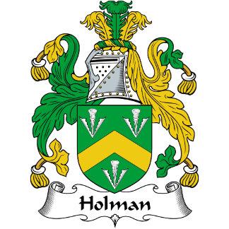 Holman Family Crest