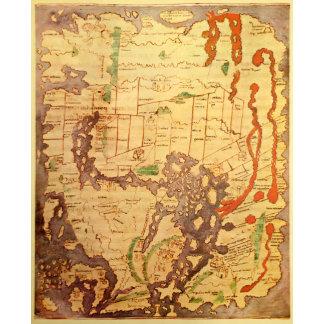 Anglo Saxon World Map