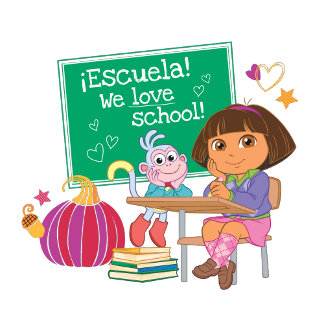¡Escuela! We love school!