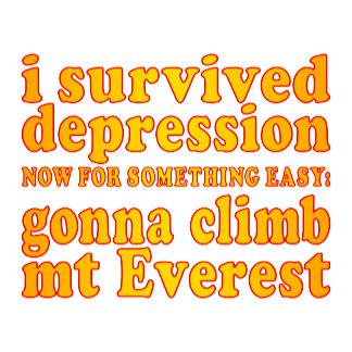 I Survived Depression - Now Gonna Climb Mt Everest