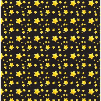 Dark night sky with stars pattern