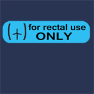 ♥ for rectal use only