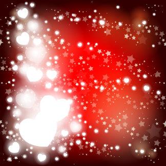 Sparkling hearts