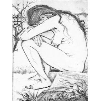 Sorrow (After Vincent Van Gogh)
