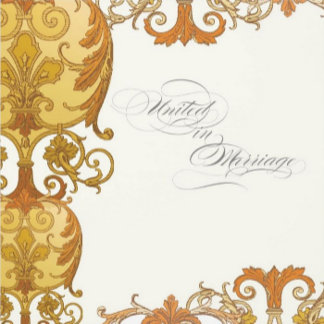 Victoria Baroque Swirl - Yellow Gold