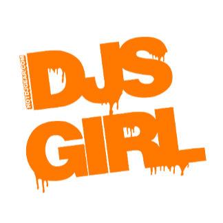 DJs Girl Orange