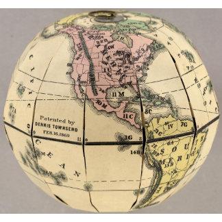 Townsend's Patent Folding Globe