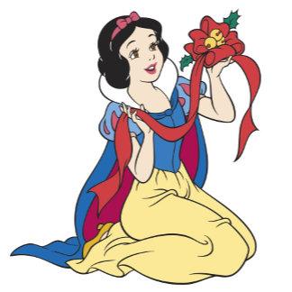 Snow White Sitting Down