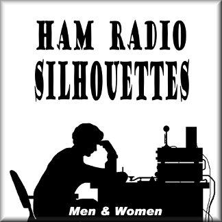 HAM RADIO SILHOUETTES