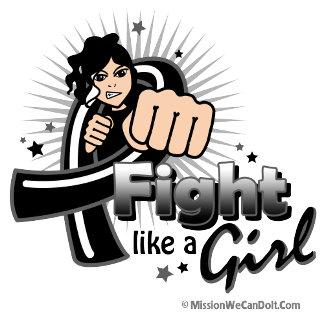 Animated Fight Like A Girl Melanoma