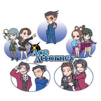 Ace Attorney Chibi's