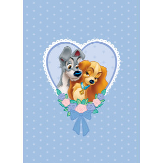 Lady and The Tramp Love Card
