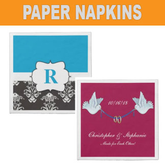 Napkins Personalized, Monogrammed, Events