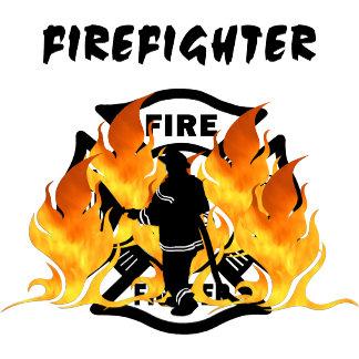 Firefighter Fire Dept Flames
