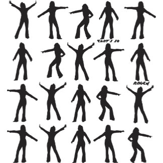 That's So Raven Dance Silhouettes