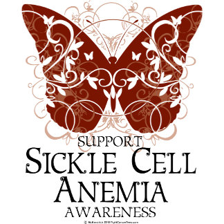 Sickle Cell Anemia Butterfly