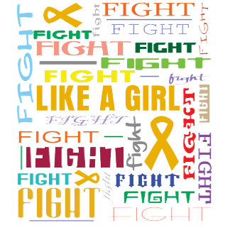 Appendix Cancer Fight Like a Girl Collage