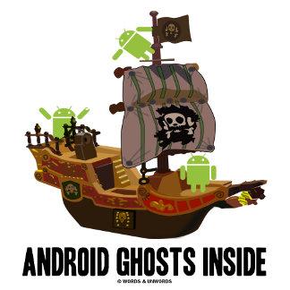 Android Ghosts Inside (Software Developer Humor)