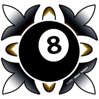 Deco 8 Ball Design