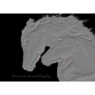 Horse Lovers shop for custom party invitations