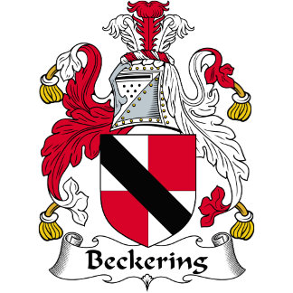 Beckering Family Crest / Coat of Arms
