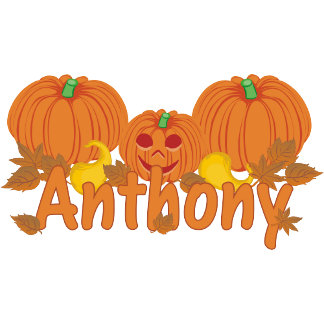 Pumpkin Anthony Personalized Halloween