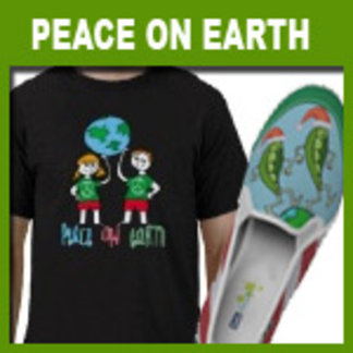 Peace on Earth T-shirts and Gifts