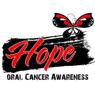 Hope Tattoo Butterfly Oral Cancer