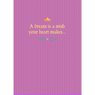 Sleeping Beauty Valentine Card