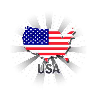 Usa Flag Map 2.0