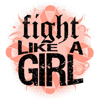 Endometrial Cancer Fight Like A Girl Rock Ed.