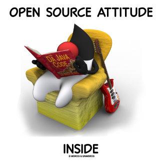 Open Source Attitude Inside (Duke Java Book Chair)