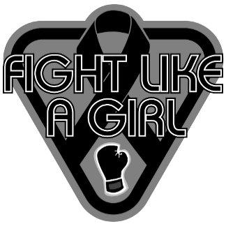 Melanoma Fight Like A Girl Glove