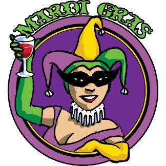 Mardi Gras Jester Girl