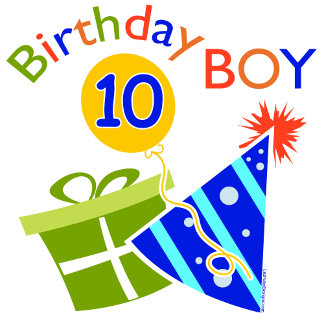 Boys 10th Birthday T-shirts and Gifts