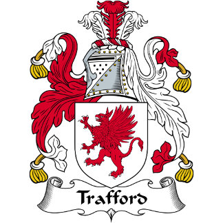 Trafford Family Crest