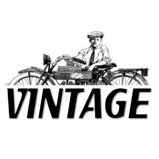 Bicycle ~ Motorcycle Vintage