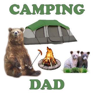 Camping Dad Bear