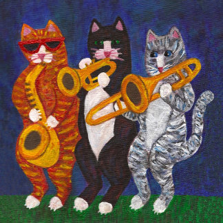 Cats Brass Section at Night