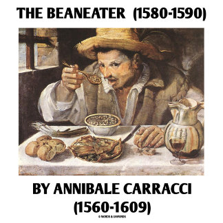 The Beaneater By Annibale Carracci (1560-1609)