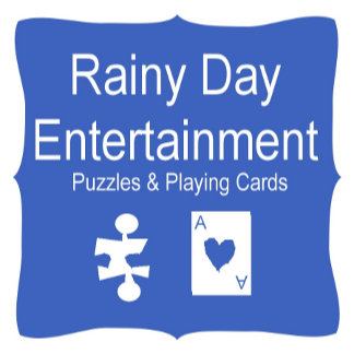 Rainy Day Entertainment — Jigsaws and Card Games!