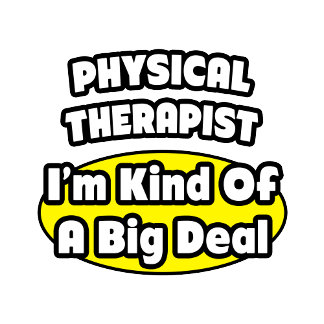 Physical Therapist = Kind of a Big Deal