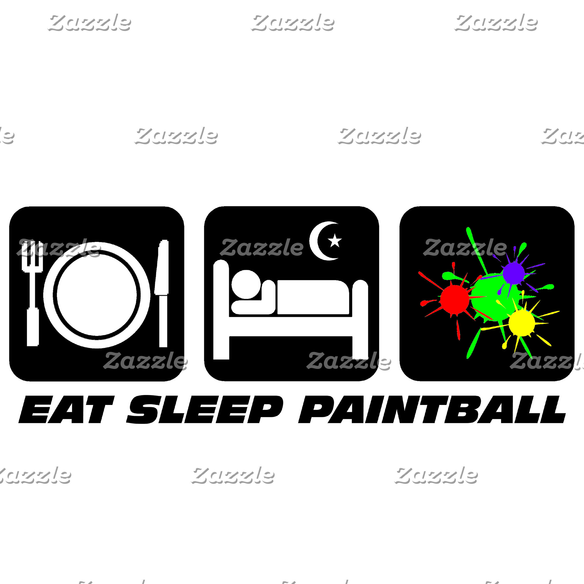 eat sleep paintball