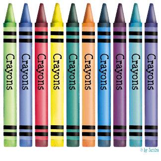 Ten Crayons