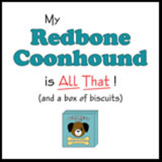 My Redbone Coonhound is All That!