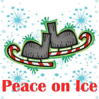 SkateChick Peace on Ice
