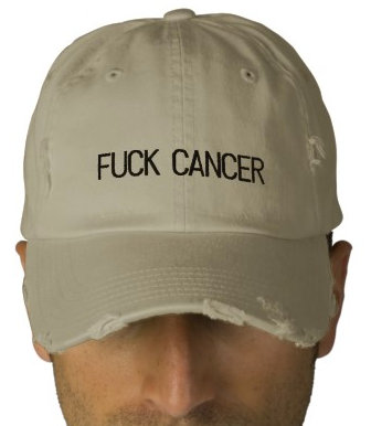 fuck cancer hats