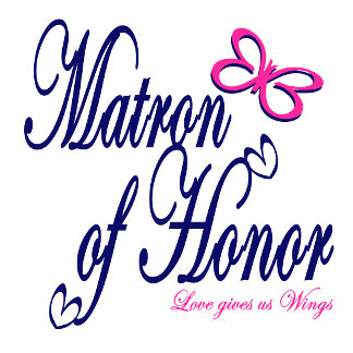 Matron of Honor/ Pink