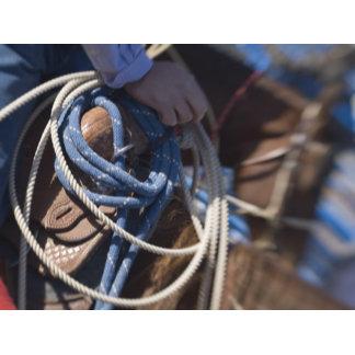 Tucson, Arizona: Ropes and equipment of rodeo